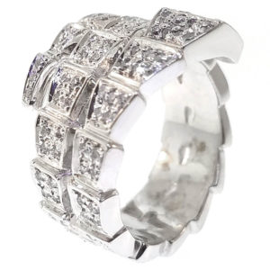 14K White Gold 0.91ct Diamond Ring