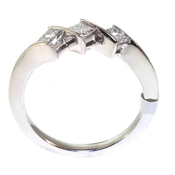 14K White Gold 0.55ct Diamond Engagement Ring