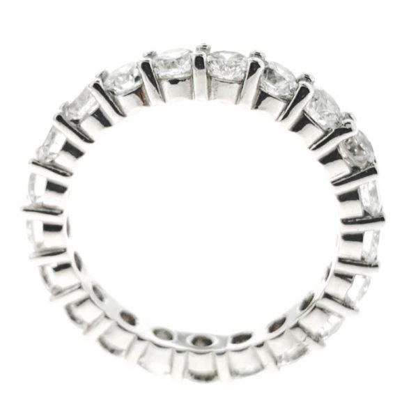 14K White Gold 3.15ct Diamond Wedding Band