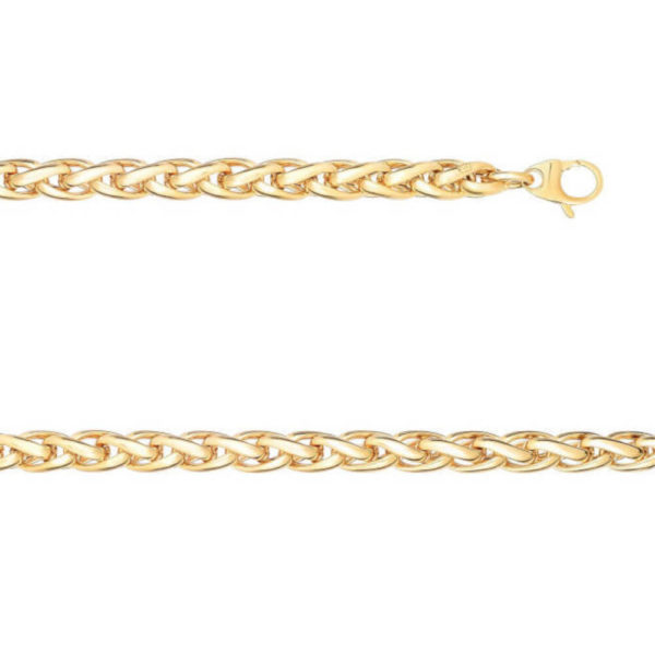 14K Yellow Gold Gent's Bracelet