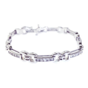 14kt White Gold 1.50ct Diamond Tennis Bracelet