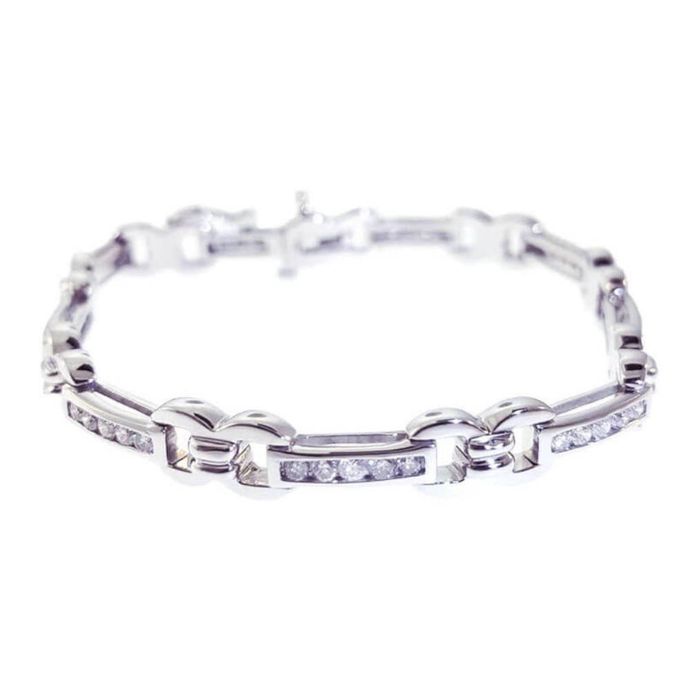 14kt White Gold 1.50ct Diamond Tennis Bracelet