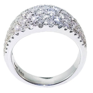 14K White Gold 2.00ct Diamond Engagement Ring