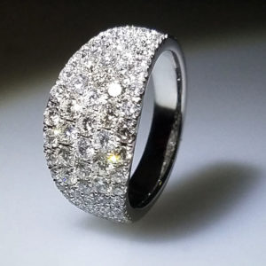 14K White Gold 2.00ct Diamond Ring