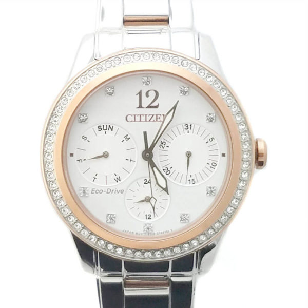 Citizen Eco-Drive Dress Watch with crystals