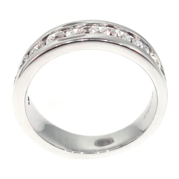 18K White Gold 1.50ct Diamond Wedding Band