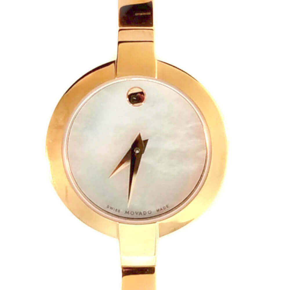 Movado Bela Bracelet Watch - Gold Tone