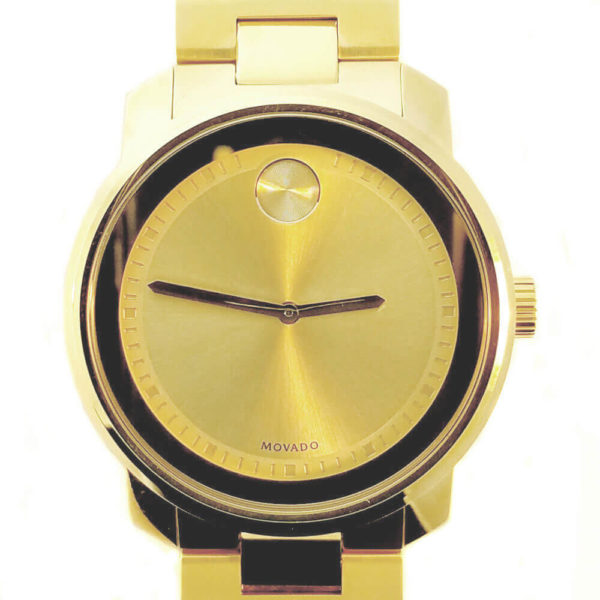 Movado Bold Series Watch - Gold Tone