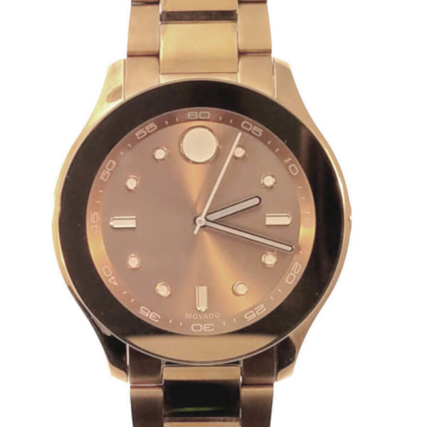 Movado Bold Series Watch - Copper Tone