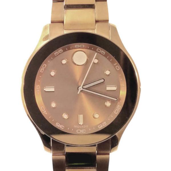Movado Bold Series Watch - Copper Tone