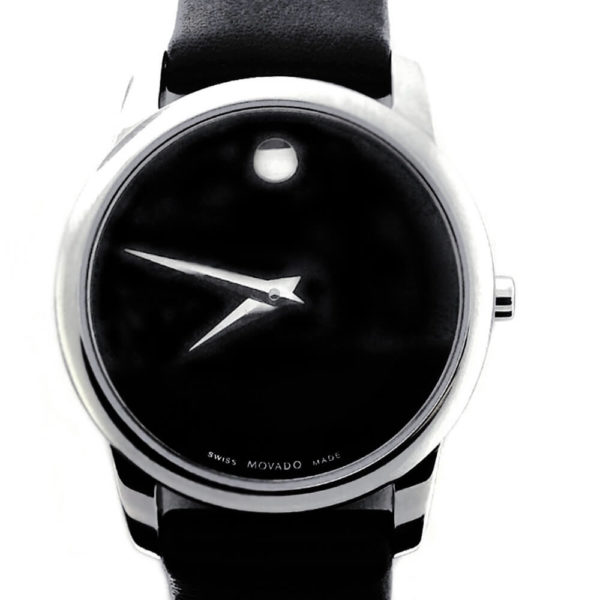 Movado Museum Watch - Classic Black