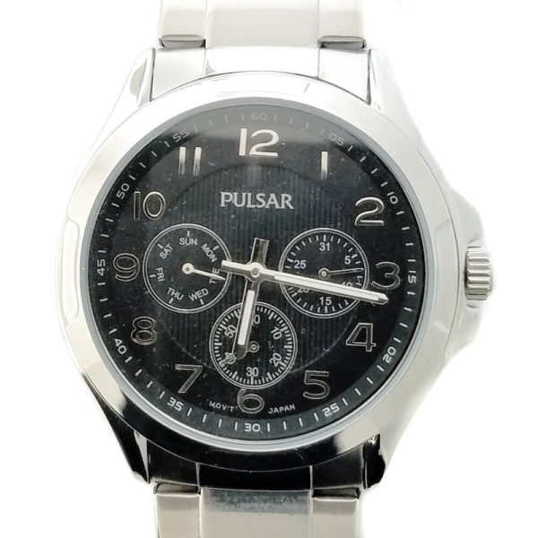 Pulsar Mens Bracelet Watch