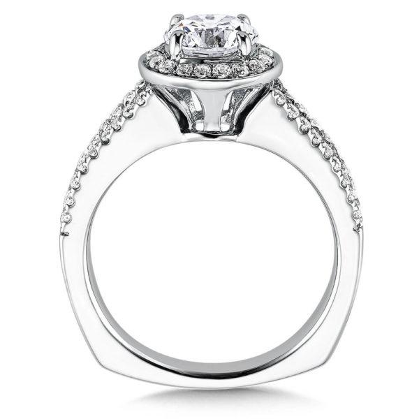 14K White Gold 0.36ct Diamond Engagement Ring