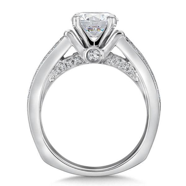 14K White Gold 0.49ct Diamond Engagement Ring