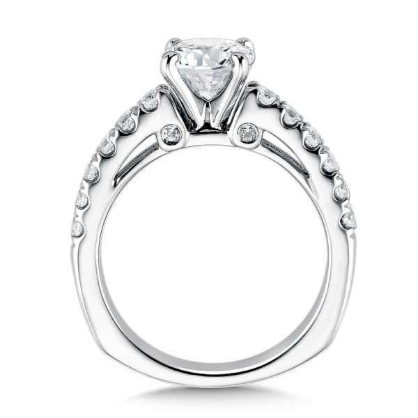 14K White Gold 0.45ct Diamond Engagement Ring