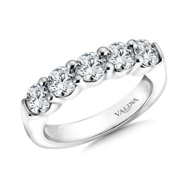 14K White Gold 1.61ct Diamond Wedding Band