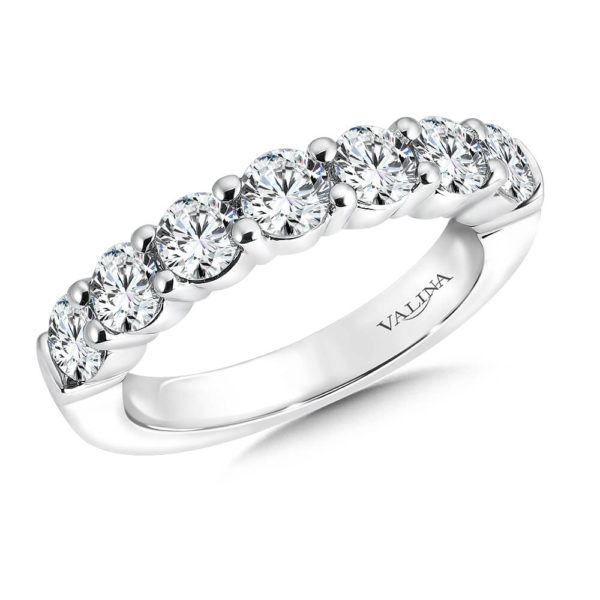 14K White Gold 1.71ct Diamond Wedding Band