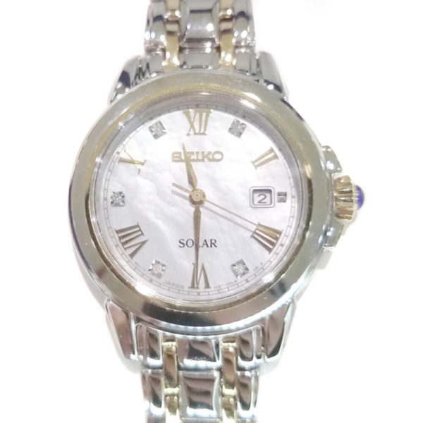 Seiko Ladies Solar Bracelet Watch