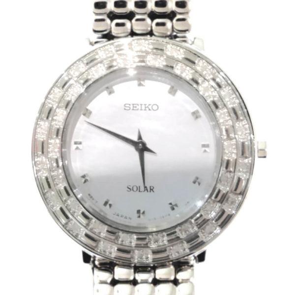 Seiko Ladies Solar Watch with 36 Diamonds