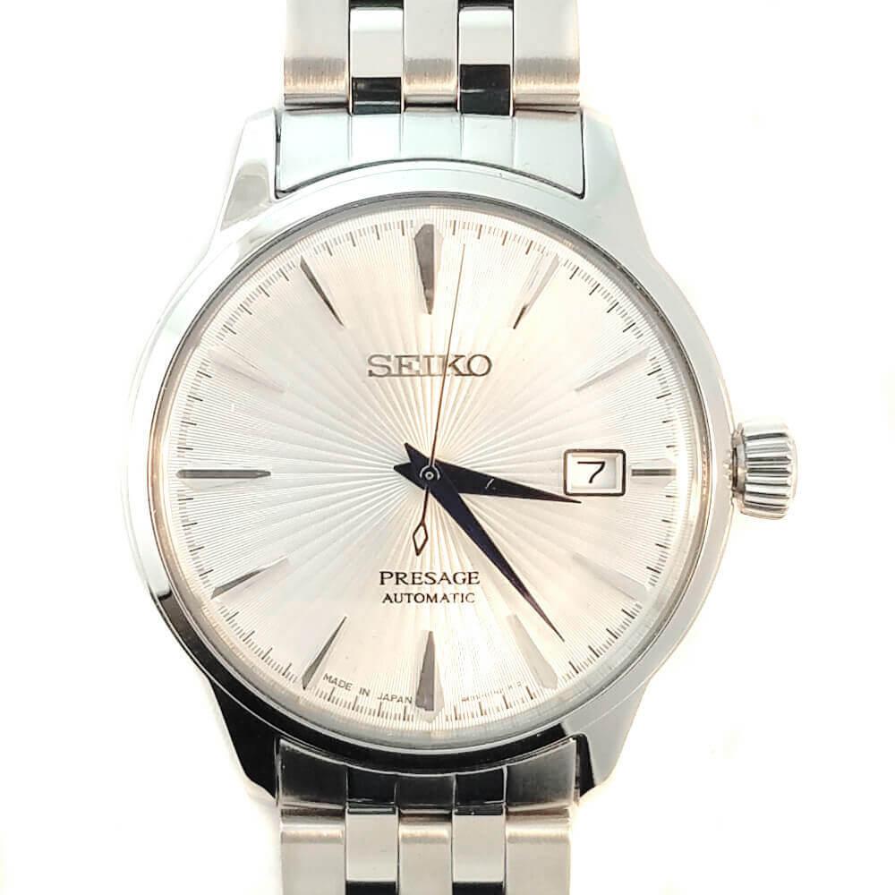 Seiko Presage Automatic Watch - Silver Tone