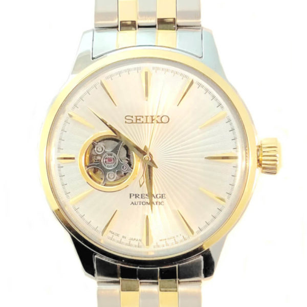 Seiko Presage Automatic Watch - Gold Tone