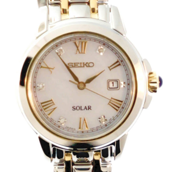 Seiko Solar Ladies Bracelet Watch