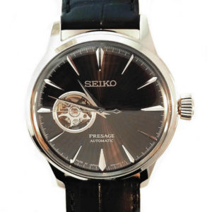 Seiko Presage Automatic Watch - Black Tone