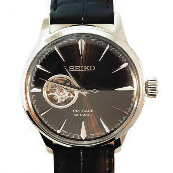 Seiko Presage Automatic Watch - Black Tone