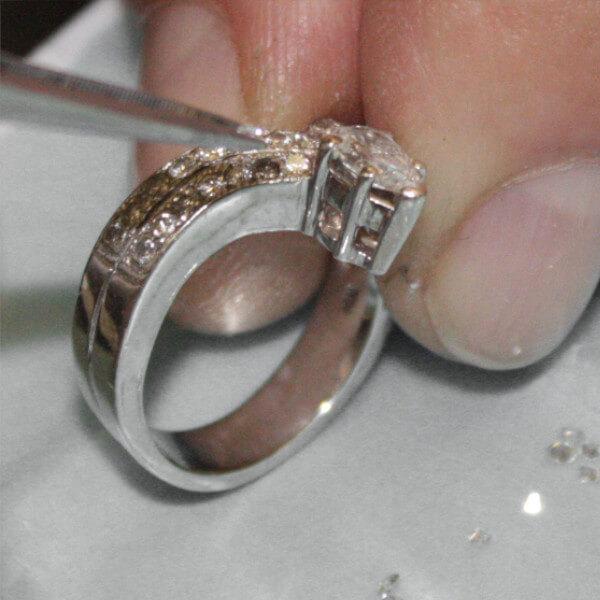 Jewelry Repairs Stone Setting